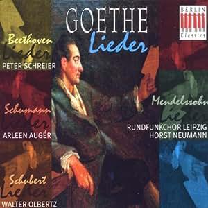 Goethe: Lieder