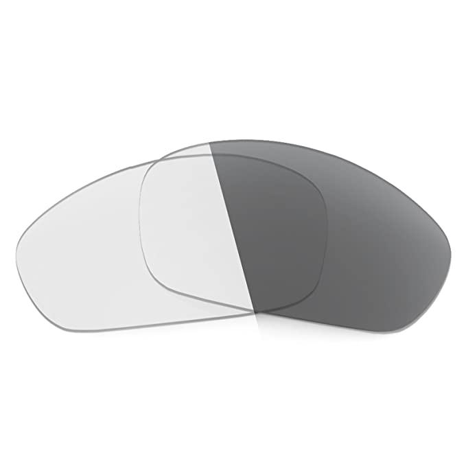 c064f29e21 Revant Replacement Lenses for Oakley Straight Jacket (2007) Elite Adapt  Grey Photochromic  Amazon.co.uk  Clothing