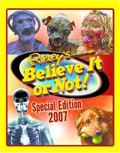 ripley s special edition 2007 ripley s believe it or not special