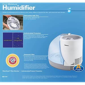 Holmes Cool Mist Humidifier with 24 hour Run Time, HM1761-NU