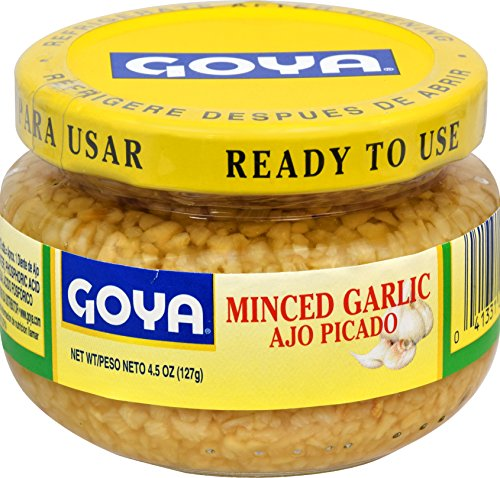 Goya Minced Garlic, 4.5 Ounce