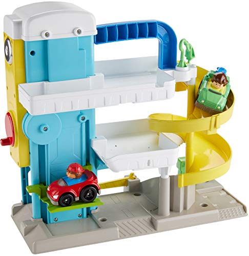 51YzXxIln1L - Fisher-Price Little People the Helpful Neighbor's Garage