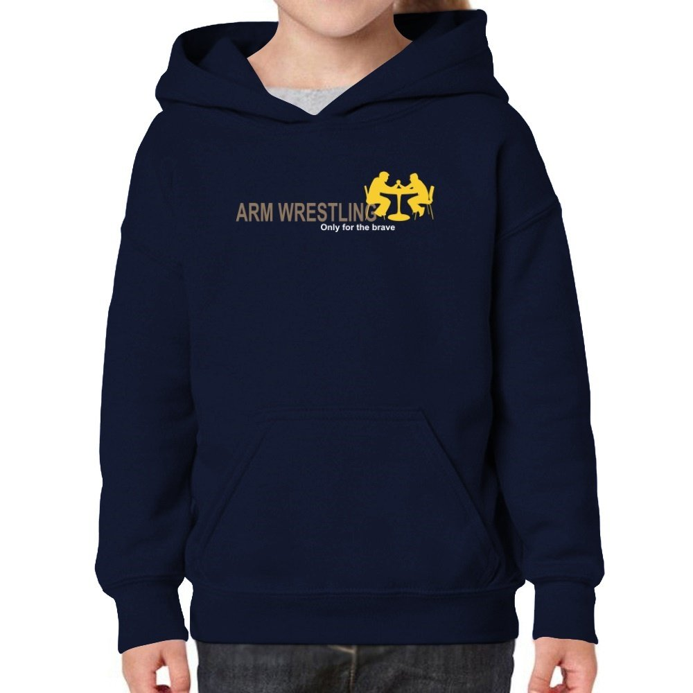 Teeburon Arm Wrestling Only For The Brave Girl Hoodie