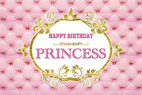 Yeele 7x5ft Background for Photography Royal Princess Birthday Backdrop Party Decoration Banner Adult Baby Kid Boy Girl Portrait Photo Booth Shoot Studio Vinyl Props -