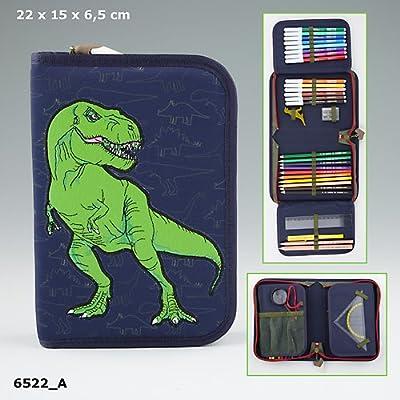 Dino World Funda Deluxe Doble Tapa, llenas estuche Estuche embalaje original *, * *: Amazon.es: Salud y cuidado personal