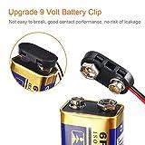 9 V Battery Clip Connector, I-Type 9 Volt Battery