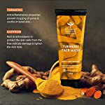 Bombay Shaving Company Turmeric Face Wash for Men & Women- Tan Removal & Even Skin Tone | Made in India