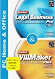 Software : Quicken Legal Business Contracts & Forms Pro 2005