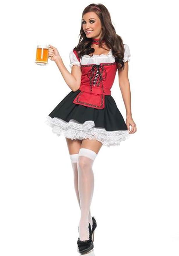 Amazon.com: kindoyo Mujer Sexy tirolesa vestidos Halloween ...