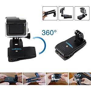 Luxebell Accessories Kit for AKASO EK5000 EK7000 4K WIFI Action Camera Gopro Hero 6 5/Session 5/Hero 4 3 2 1 DBPOWER Apeman Xiaomi Yi