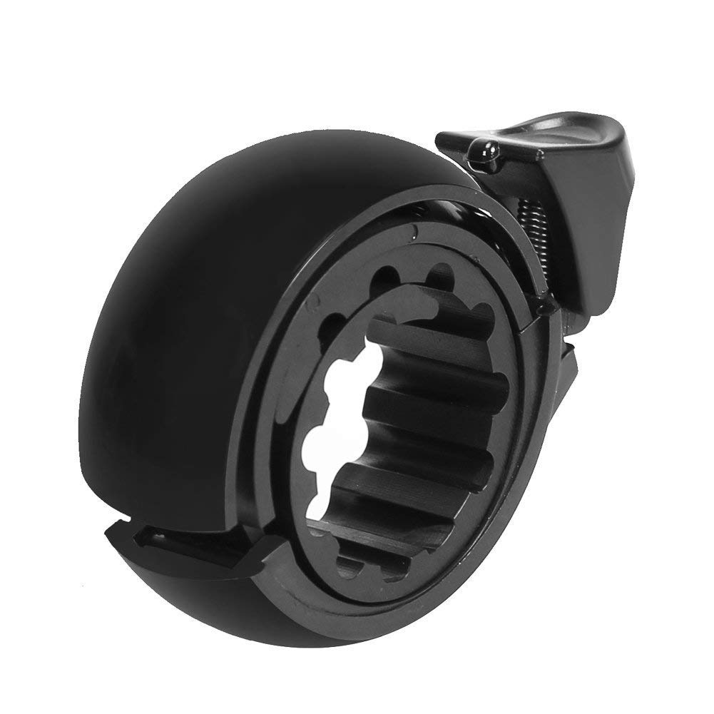 Bike Bell, Beyond Portable Bicycle Bell Invisible Horn Accessories Design Bicycle Handlebar Ring for Mountain Bike and Road Bike, Classic Durable Crisp Loud