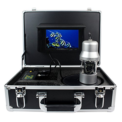 "Underwater Fishing Camera Anysun 1/3 Inch 7"" TFT LCD Sony CCD 800tvl Hd Underwater Video  Camera Fish Finder 360 Degree View with 20M Cable"