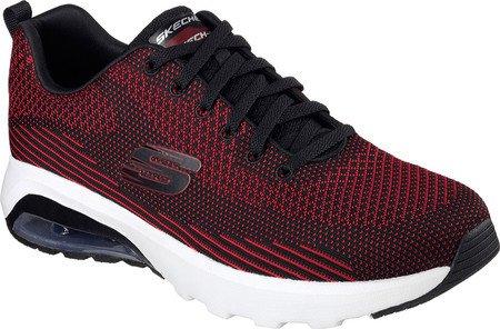 Skechers Sport Sneaker Air Varsity Homme Noir / Rouge