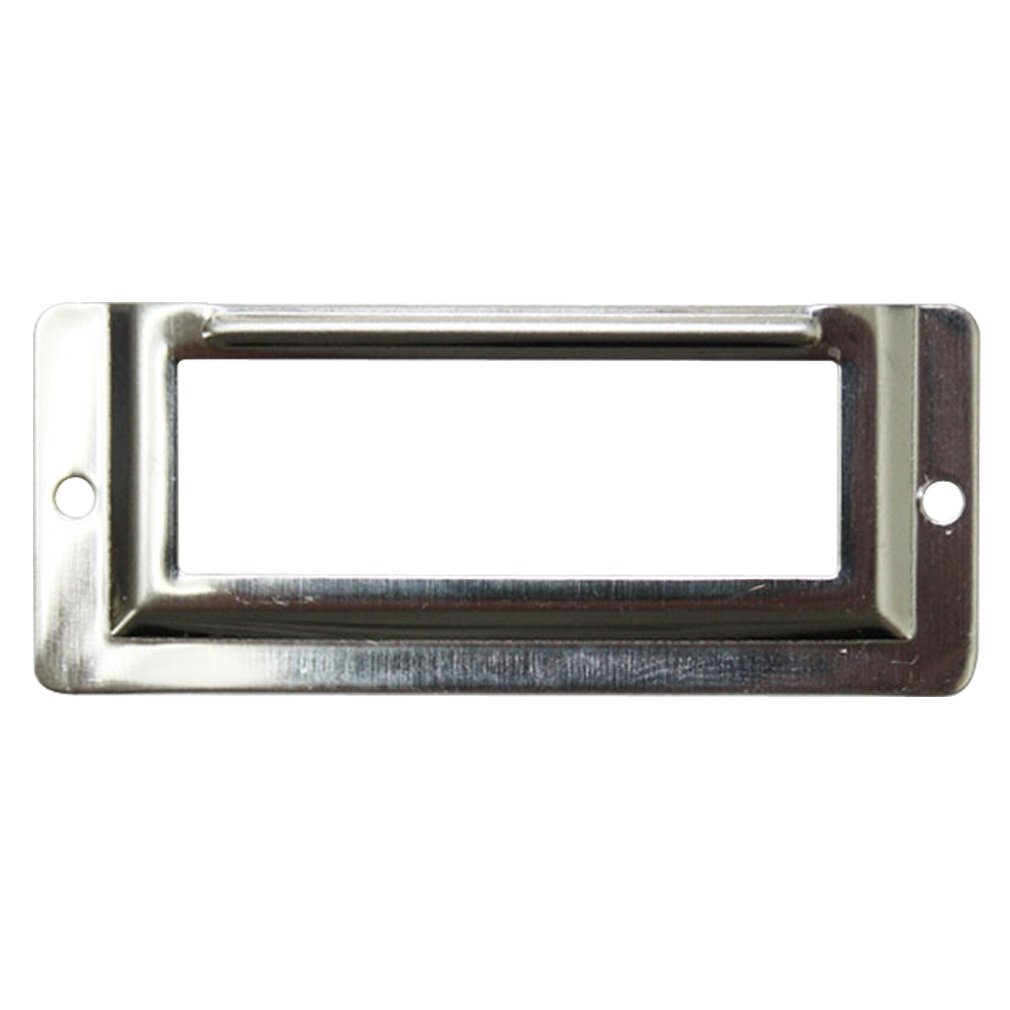 Amazon.com  JC Handle Wall or Door Name Plate Holder Small 58x24mm Metal Silver Pack of 10  Office Products  sc 1 st  Amazon.com & Amazon.com : JC Handle Wall or Door Name Plate Holder Small 58x24mm ...