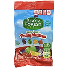 Black Forest Juicy Center Fruity Medley Mixed Fruit Snacks, 2.25 Ounce Bag,  48 Count