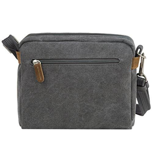Size One Travelon theft Bag Heritage Indigo Crossbody Anti Pewter CPqaq4wxB