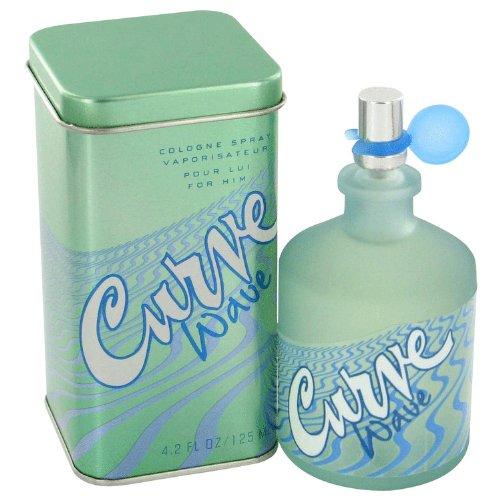 Curve Wave by Liz Claiborne Men's Cologne Spray 4.2 oz - 100