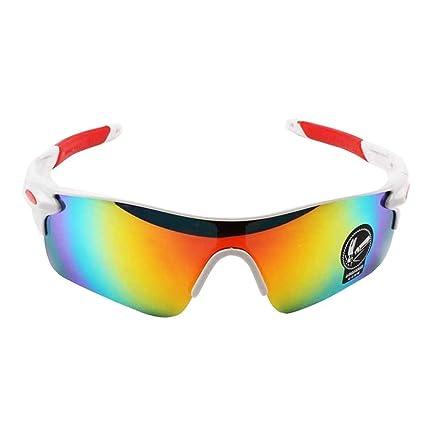 48dbe77811 WeiMay Gafas de Sol de Ciclismo, polarizado antideslumbrante Lluvia día visión  Nocturna Ciclismo Gafas de