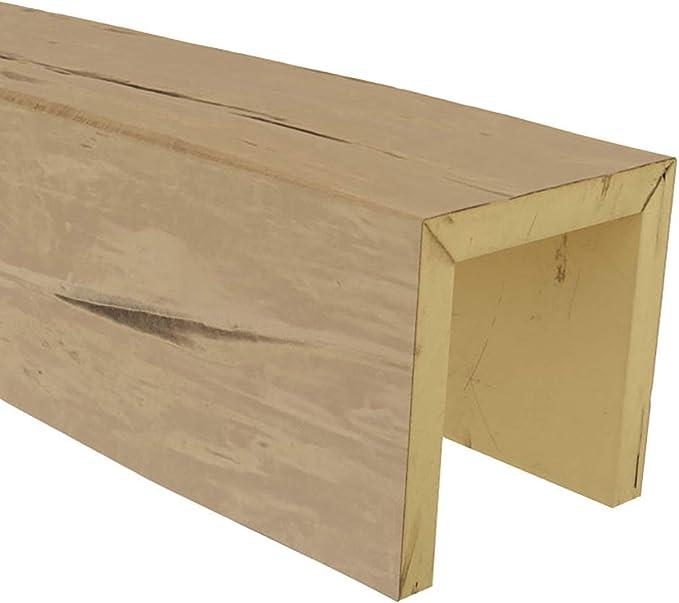 Ekena Millwork Bmrwpp Sample 6 W X 6 H X 12 L 3 Sided Riverwood Endurathane Faux Wood Ceiling Beam Sample Puritan Pine Finish Home Improvement Amazon Com