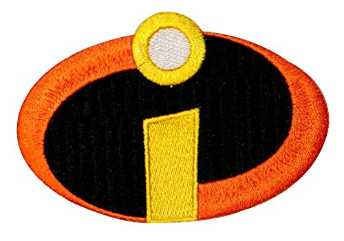 Disney Patch - The Incredibles Superhero Costume Logo Disney Pixar Movie Iron On Applique Patch