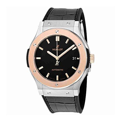 Hublot Classic Fusion Automatic Matte Black Dial Mens Watch 511.NO.1181.LR