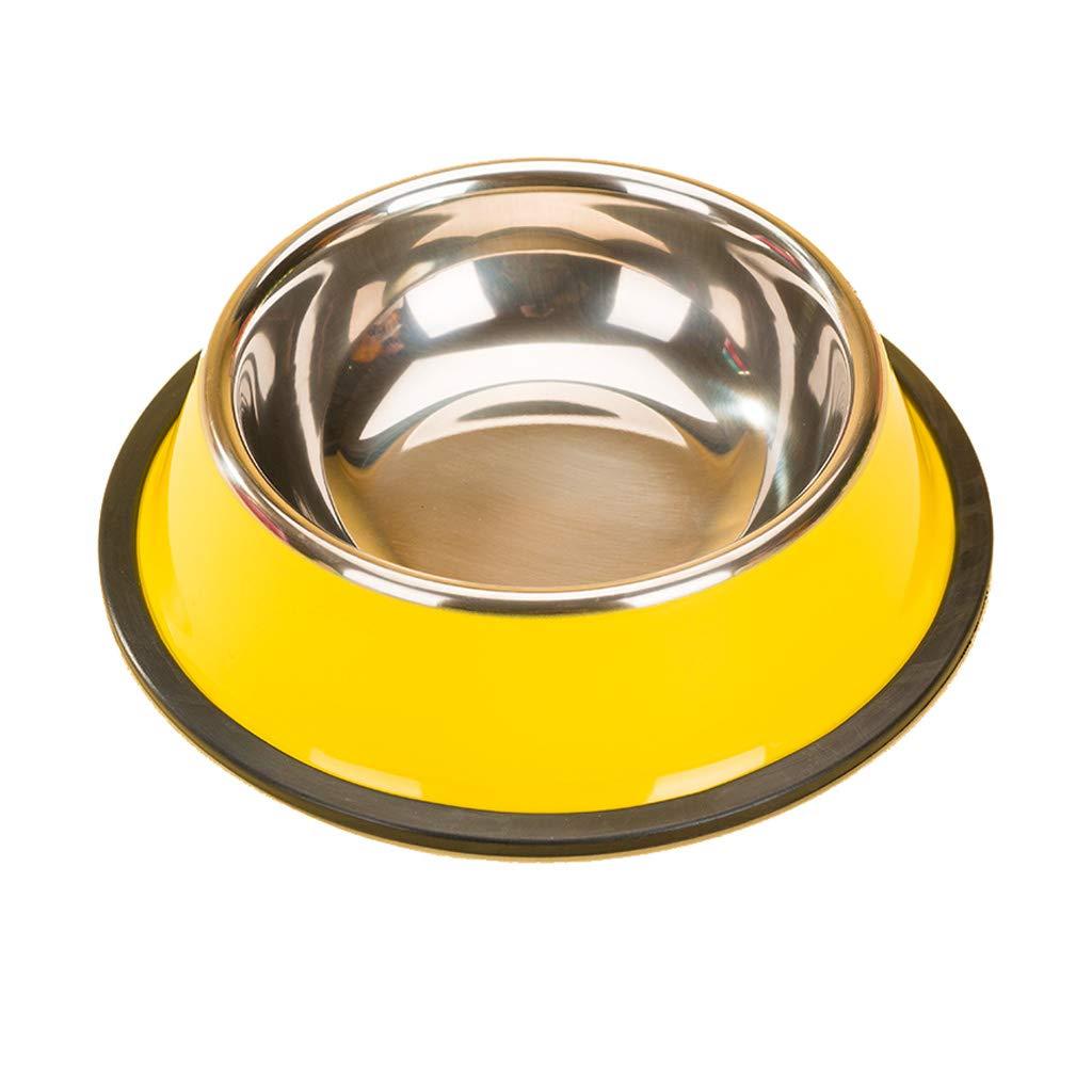 L 21.55.5cm Practical Pet Supplies Simple Dog Bowl Cat Bowl Creative Fashion Drinking Bowl Cat Bowl (Size   L 21.5  5.5cm)
