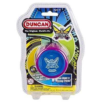 Butterfly XT Duncan Purple with Blue Cap Yo Yo: Toys & Games