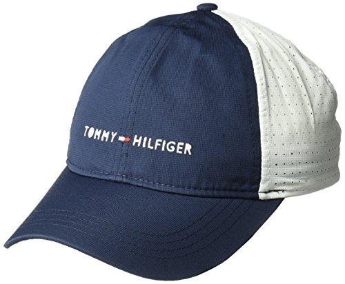 Tommy Hilfiger Men's Traditional Golf Hat, Navy Blazer/Classic White, One Size