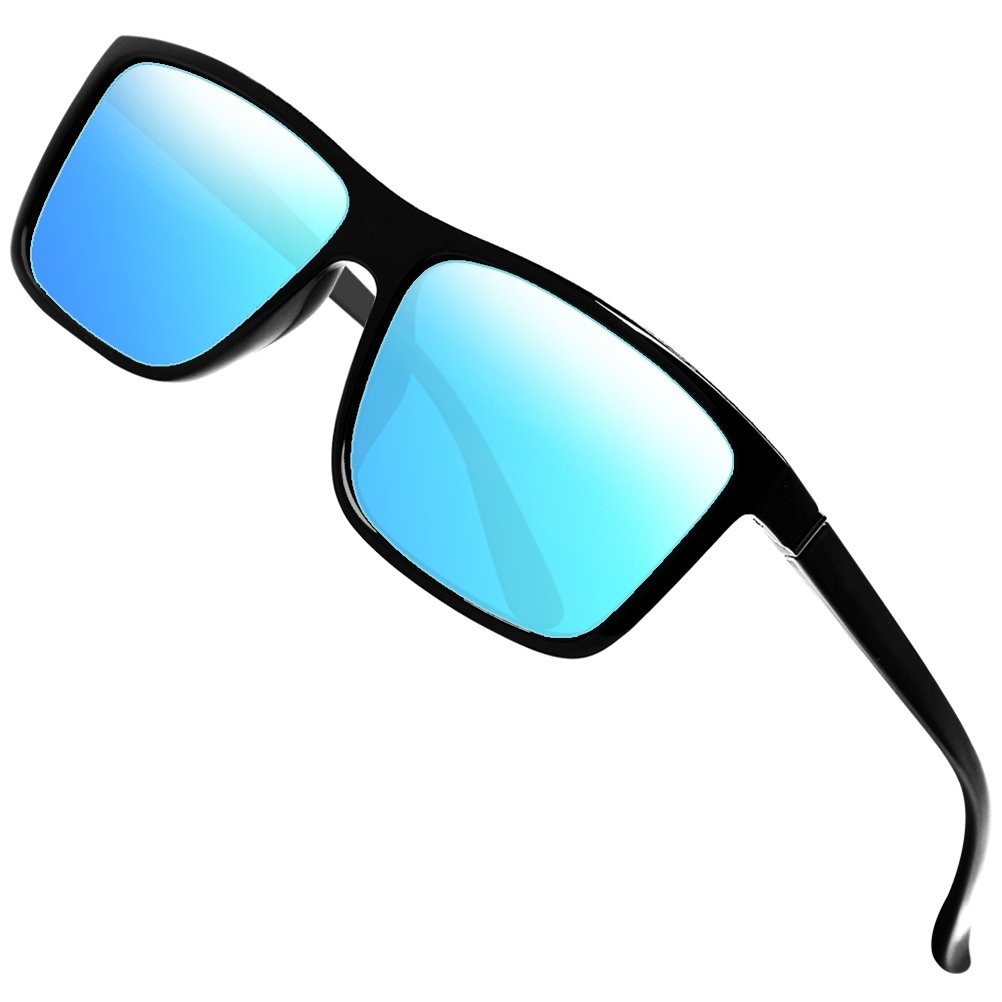 d40b06f63 Amazon.com: Polarized Sunglasses for Men Driving Mens Sunglasses  Rectangular Vintage Sun Glasses For Men/Women Blue: Shoes