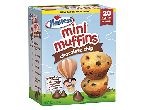 Hostess Mini Muffins 8.5oz (Chocolate Chip)