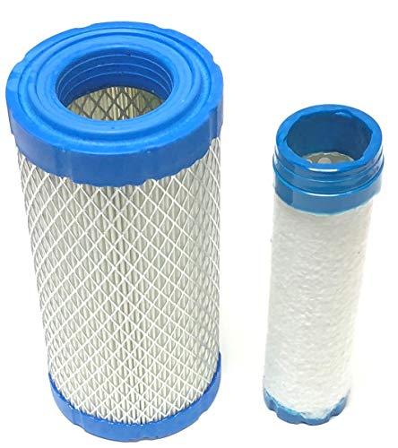 (Air Filter For Kohler 2508302S, 25 083 02-S (outer) Plus 2508303S, 25 083 02-S (inner))