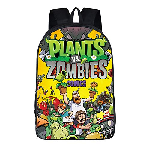 Gumstyle Plants vs. Zombies Anime Children Bookbags Backpack School Bag 1]()
