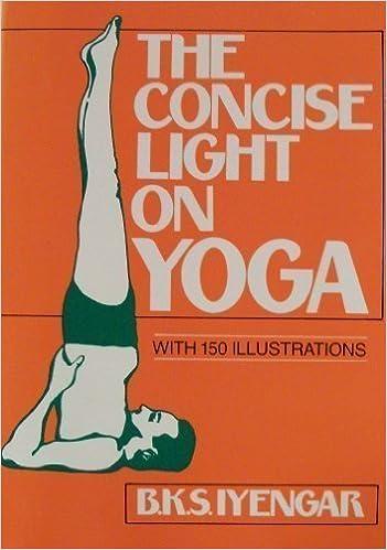 The Concise Light on Yoga: B.K.S. Iyengar: 9780805207231 ...