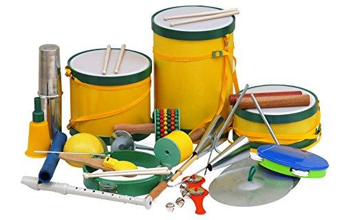 Bandinha Ritmica com 20 instrumento musicais