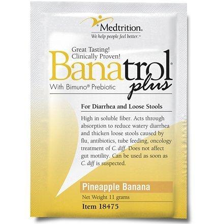 BANATROL PLUS PINEAPPLE BANANA, ANTI-DIARRHEA w/ BIMUNO PREBIOTIC, 75/cs