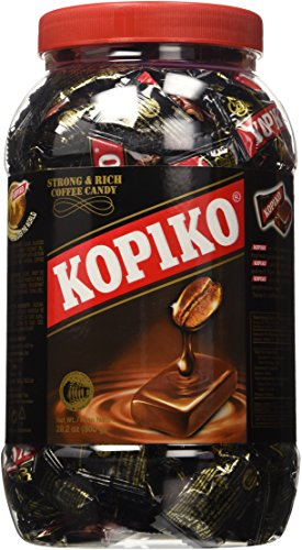 - Kopiko Coffee Candy in Jar 800g/28.2oz (Original Version)