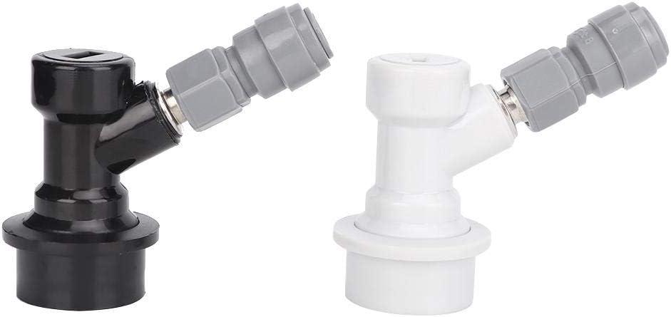 Connecteur de verrouillage /à billes 2Pcs Home Brewing Ball Lock Connecteur de f/ût 8mm-1//4in FFL Quick Push-Fit Connector