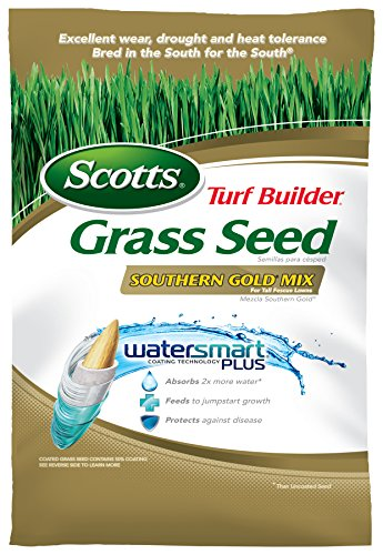 Mix Fescue - Scotts Turf Builder Grass Seed - Southern Gold Mix for Tall Fescue Lawns, 20-Pound (Sold in select Southern states)