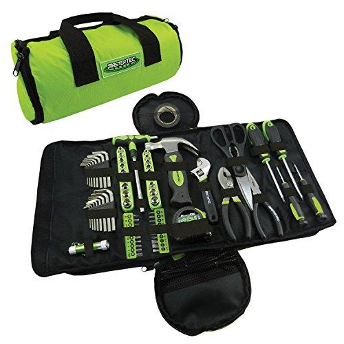 MASTERTEC 88pc Roll Up Tool Kit - Mini Compact Kit Set Tool