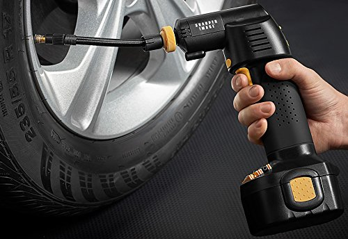 Sharper Image Cordless Auto Stop Tire Inflator