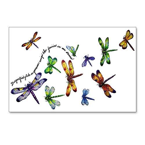 Postcards (8 Pack) Dragonflies Glide on Gossamer ()