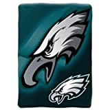 "The Northwest Company Officially Licensed NFL Bevel Micro Raschel Throw Blanket, 50"" x 60"""