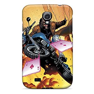 Protective Hard Phone Cover For Samsung Galaxy S4 (aUq3806qQiz) Custom Nice Gambit I4 Image