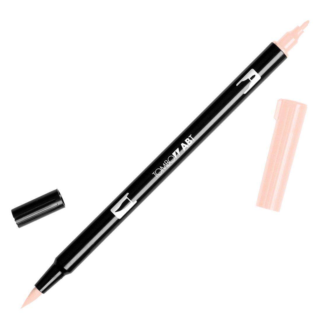 Tombow 56598 Dual Brush Pen Art Marker, 850 - Flesh, 1-Pack.