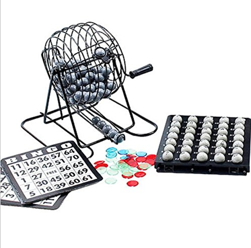 [Gingo Cards Game Kids Balls Cage Makders Board Kit Family Fun Game] (Clue Group Halloween Costumes)