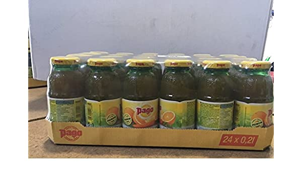 Pago ACE bebida ACE cl 20 x 24 botellas de vidrio de jugo de fruta: Amazon.es: Alimentación y bebidas