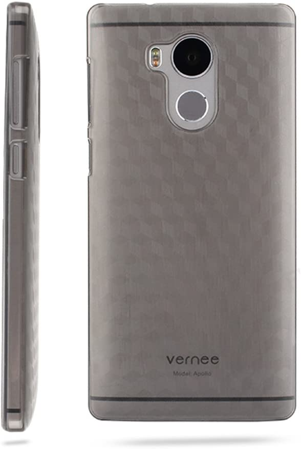 T&R Vernee Apollo Funda, Hard Plastic PC Back Cover Case Carcasa ...
