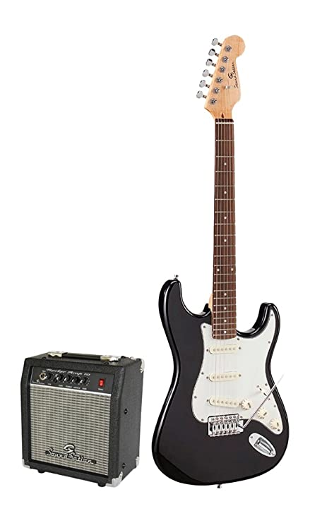 Soundsation Rocker Pack BK Guitarra eléctrica Negro