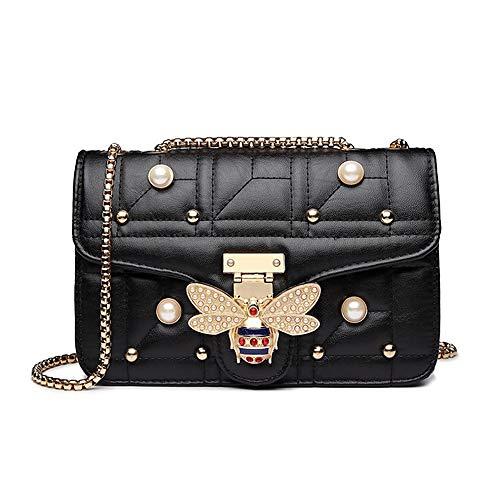 Beatfull Bee Shoulder Bag for Women, Elegant Handbag Crossbody Bag with Pearl (Cheap Replica Handbags)