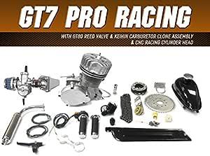 GasBike GT7 Motorized 66cc/80cc 2 Stroke Engine Kit